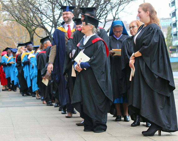 Maryvale Institute Graduation Ceremony