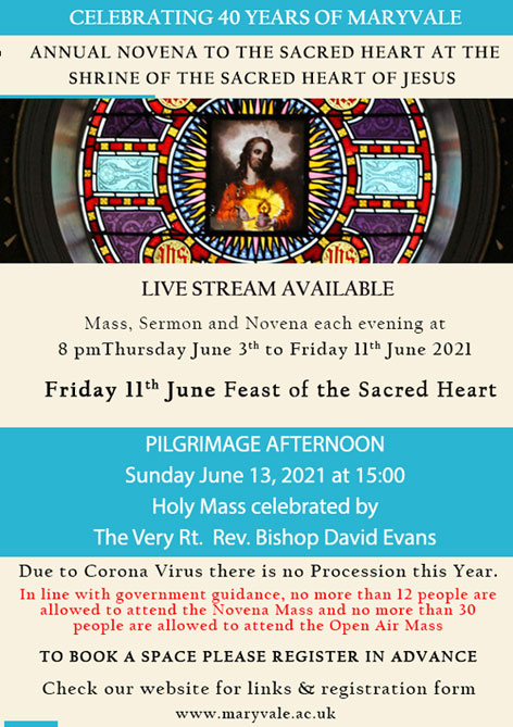 Annual Novena and Pilgrimage flyer