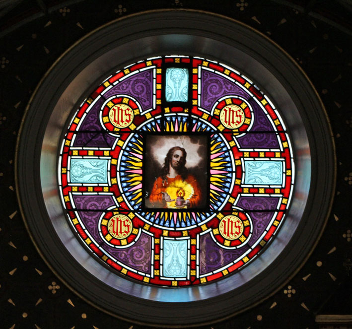 Sacred Heart window