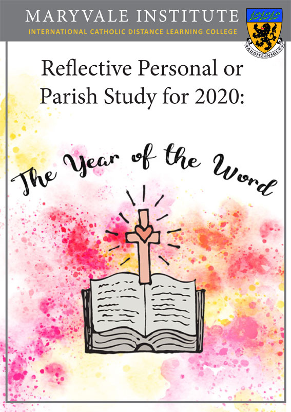 Reflective or Personal Study for the Year of the Word Flyer