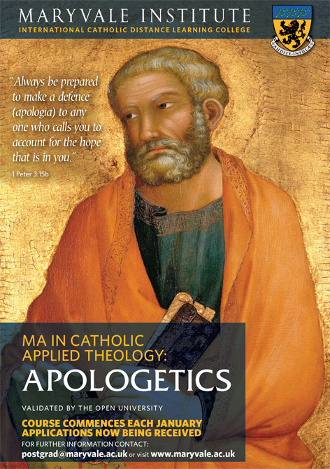 MA Apologetics Flyer