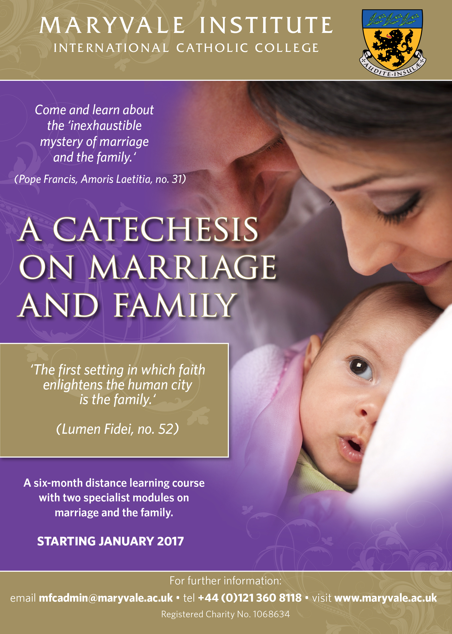 Marriage & Family Flyer