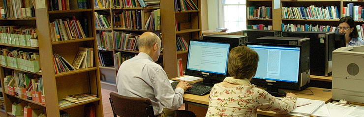 Students woking in Maryvale Library